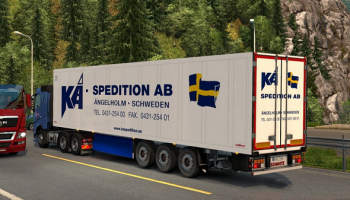 SCS TRAILER PACK ДЛЯ 1.30 для Euro Truck Simulator 2