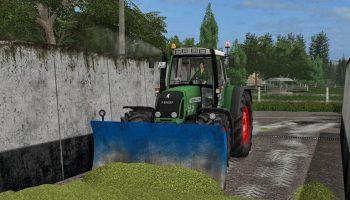 Отвал для силоса для Farming Simulator 2017