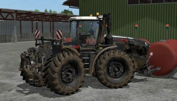 Fendt vario black v 2.0 для Farming Simulator 2017