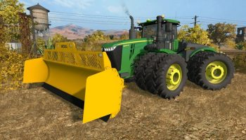 John Deere 9R Pack v 5.0.4 для Farming Simulator 2017