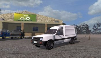 Renault Express v 1.0 для Farming Simulator 2017