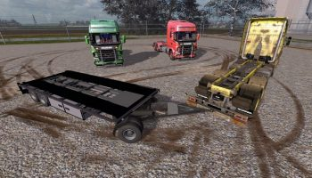 Scania V8 + Trailer v 1.0.3 Multicolor для Farming Simulator 2017