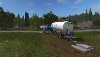 Точка забора и продажи молока для Farming Simulator 2017