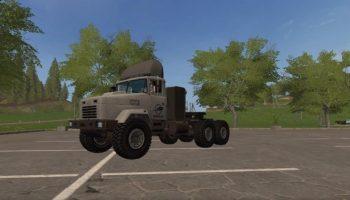 Краз-63221 для Farming Simulator 2017