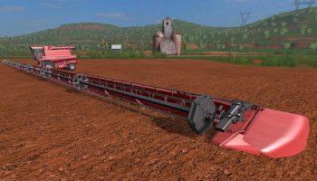 Большая жатка для Farming Simulator 2017