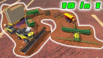 Мод 10 в 1 — всё, что вы хотите для Farming Simulator 2017