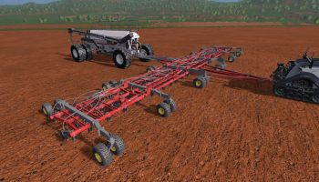 BOURGAULT COMBI AIR DRILL V 1.0 для Farming Simulator 2017