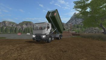 Biobeltz ITR 480 V 1.0.1.1 для Farming Simulator 2017