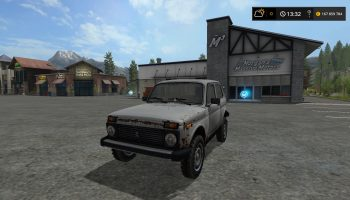 Lada Niva v1.0.0.0 для Farming Simulator 2017