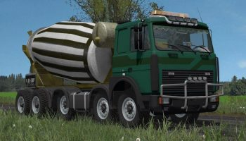 MAZ CONCRETE MIXER V 1.0 для Farming Simulator 2017
