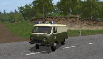 UAZ Volkspolizei V 1.0 для Farming Simulator 2017