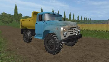 ЗИЛ ММЗ 555 для Farming Simulator 2017