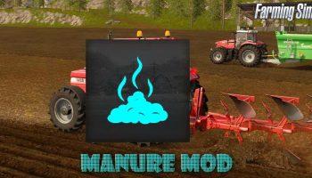 Manure Mod для Farming Simulator 2017