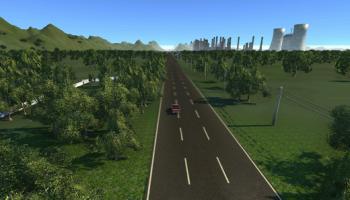 Straightline Track для BeamNG DRIVE