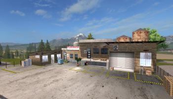 SA Мясопереработка v 1.0.0 для Farming Simulator 2017