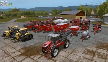 Horsch Agrovation DLC для Farming Simulator 2017