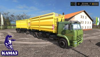 Kamaz HKL Set V 1.0.0.1 для Farming Simulator 2017