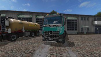 mercedes benz arocs 8×8 v1.0 для Farming Simulator 2017