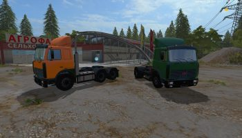 Мод Маз 5432 и 6422 для Farming Simulator 2017