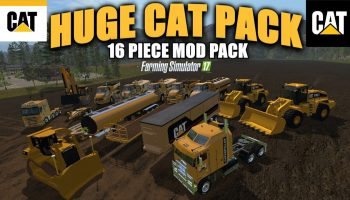 Huge cat pack v2.0 для Farming Simulator 2017