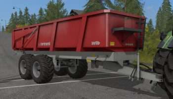 Brimont bb18b для Farming Simulator 2017