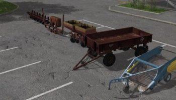 Культивация картофеля для Farming Simulator 2017