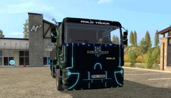 TRON TRUCK V 1.0 для Farming Simulator 2017
