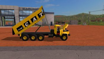 CATERPILLAR 7140 V1.0 для Farming Simulator 2017