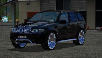 BMW X5 2004 V1.0 для Farming Simulator 2017