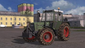 FENDT 600 FAVORIT V1.0.0.0 для Farming Simulator 2017