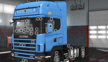 SCANIA 124L для Euro Truck Simulator 2