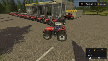 MASSEY TRACTOR UPDATE BY STEVIE для Farming Simulator 2017
