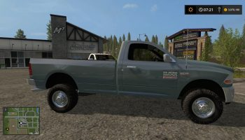 DODGE RAM 2500 REGCAB V1.0 для Farming Simulator 2017