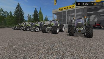 VALTRA TRACTOR UPDATE BY STEVIE для Farming Simulator 2017