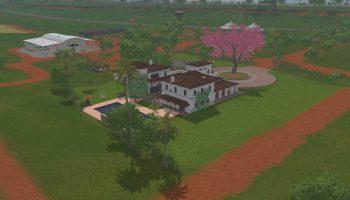 ESTANCIA LAPACHO V1.0 для Farming Simulator 2017