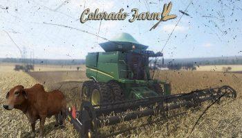 FAZENDA COLORADO V1.0 для Farming Simulator 2017