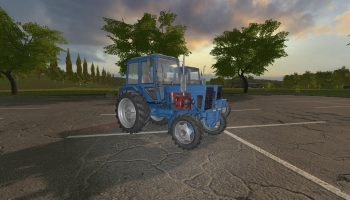 МТЗ-80/82 ПАК V1.2.0.0 для Farming Simulator 2017