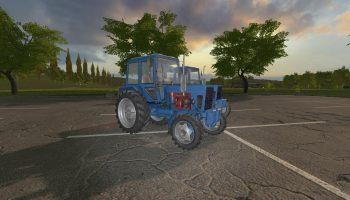 МТЗ-80/82 ПАК V1.2.0.0 для Farming Simulator 2017