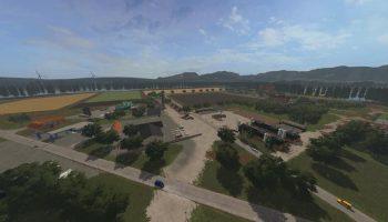 AGRICULTURAL PENINSULA V1.5 для Farming Simulator 2017