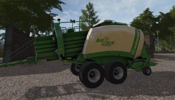 KRONE BIG PACK 1290 V1.0.0.0 для Farming Simulator 2017