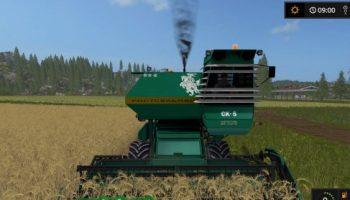 Комбайн Ростсельмаш Нива для Farming Simulator 2017