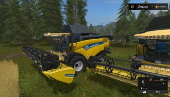 NEW HOLLAND CX8080 V1.0 для Farming Simulator 2017