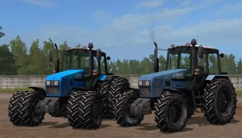 МТЗ 1221.2 V1.0 для Farming Simulator 2017