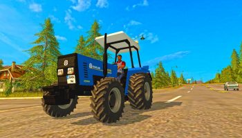 NEW HOLLAND 55 56S V2.0 для Farming Simulator 2017
