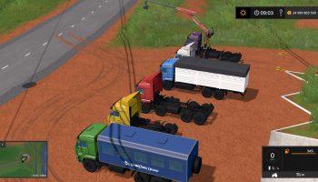 ПАК КАМАЗ ВЕЗДЕХОД V1.1 для Farming Simulator 2017