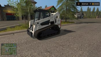 BOBCAT SKID STEER V2.0 для Farming Simulator 2017