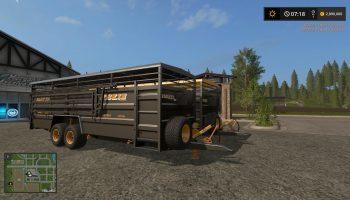 JOSKIN BETIMAX RDS 7500 BLACK V1.1.0.0 для Farming Simulator 2017