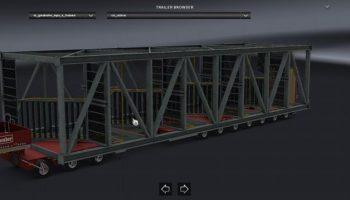 ATS SPECIAL TRANSPORT TRAILER для American Truck Simulator