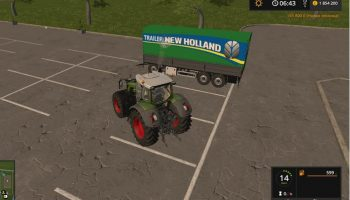 ПРИЦЕП NEW HOLLAND KRONE UAL V1.1 для Farming Simulator 2017