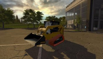 RUSTY GEHL SKIDSTEER WBUCKET V1.1.0 для Farming Simulator 2017